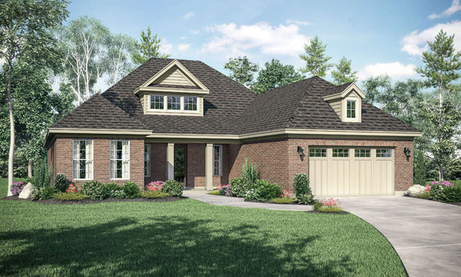 The Hudson is one of four home plans being offered by Gracepoint Homes in Stillwater's New Chapel neighborhood. The patio homes have been designed for empty nesters and residents seeking more indoor upgrades and outdoor space.