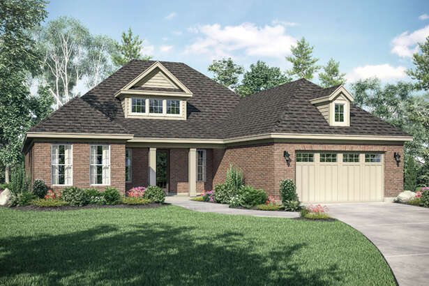 The Hudson is one of four home plans being offered by Gracepoint Homes in Stillwater's New Chapel neighborhood. The Southern Patio Series has been designed with the empty nester in mind and those seeking more indoor upgrades and outdoor space.