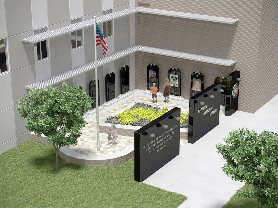 The Pearland Police Officers Association Charities is raising funds to build a memorial garden to honor the city's fallen officers. Three granite stones will stand outside the Pearland Police Department as a tribute to three police officers killed while serving the local community: