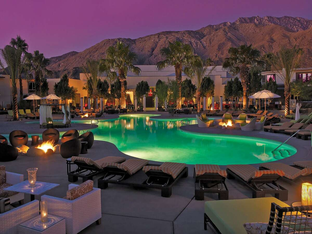 Opened in 1959, the Riviera Palm Springs has a newly vibrant atmosphere and transformed public spaces as well as classic desert mountain views.