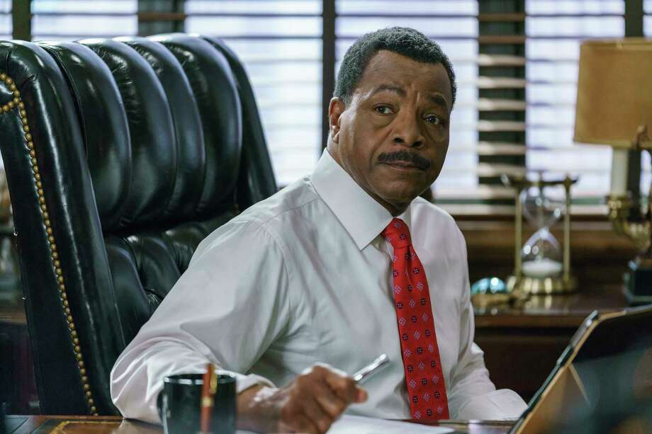 "Carl Weathers stars as State's Attorney Mark Jefferies in NBC's ""Chicago Justice."" Photo: Parrish Lewis/NBC, HO / Los Angeles Times"
