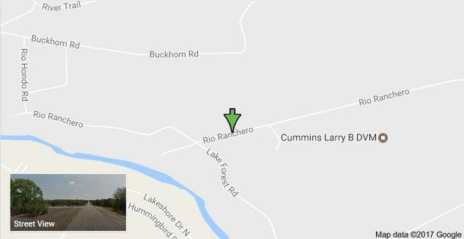 1000 block of Rio Ranchero in Pipe Creek Texas Photo: Google Street Maps