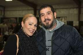Lupe Vásquez y Mario Vásquez en LIFE Downs Pavilion.