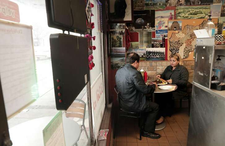 Lunch at the De Afghanan Kabob House one of the many Afghan food establishments in Fremont, Ca., as seen on Mon. March 20, 2017.