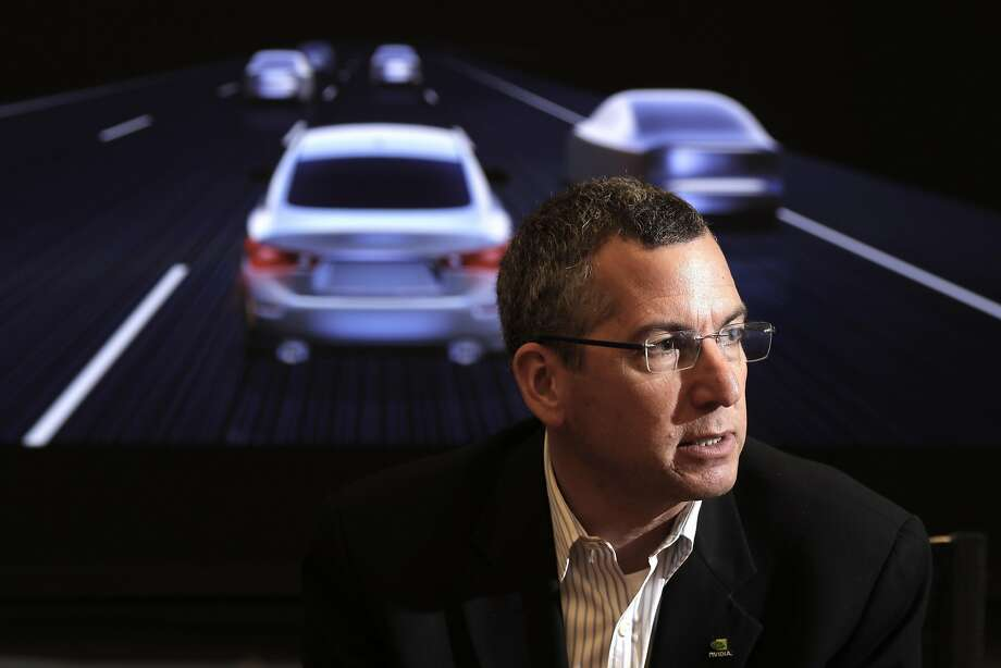 "Danny Shapiro, Nvidia senior director of automotive, said people ""need a supercomputer"" for help in autonomous vehicles. Photo: Michael Macor, The Chronicle"