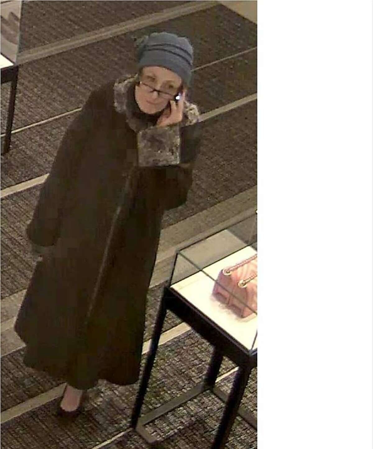 San Mateo County Sheriff's deputies are investigating the identity of a woman who steals the wallets of women who resemble her.