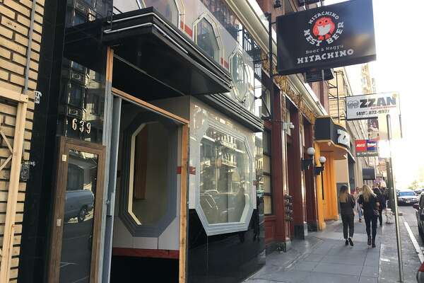 Newly opened Japanese beer-centric eatery, Hitchachino Beer & Wagyu, is located in on Post Street in Lower Nob Hill.