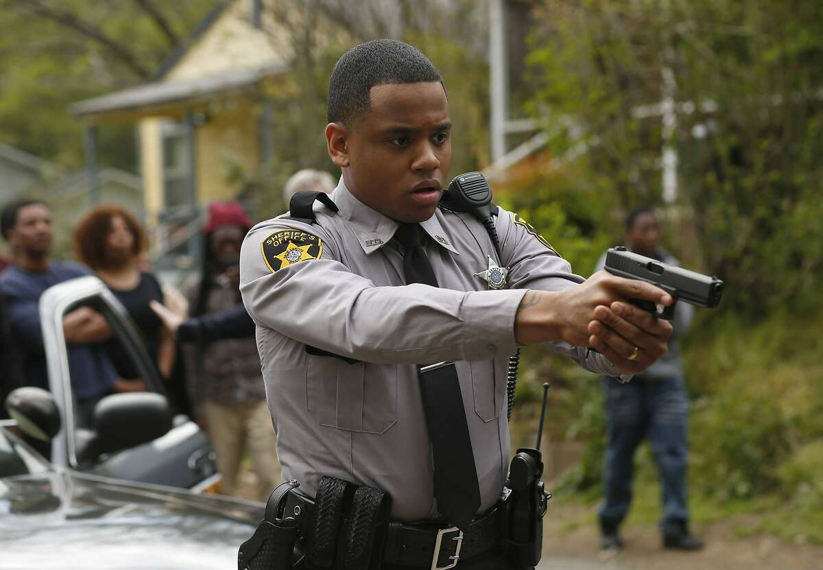 """Mack Wilds in the pilot episode of """"Shots Fired."""" MUST CREDIT: Fred Norris-Fox"""