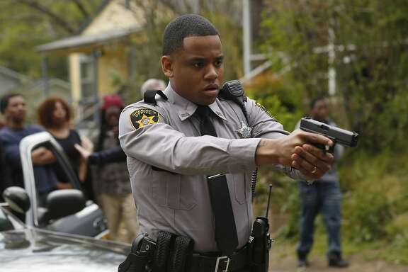 "Mack Wilds in the pilot episode of ""Shots Fired."" MUST CREDIT: Fred Norris-Fox"