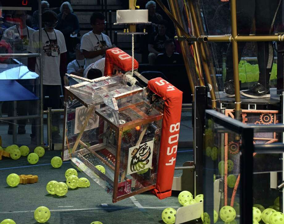 Schuylerville Robotics Team 4508 is headed back to St. Louis for the USFIRST Championship. (Photo provided)