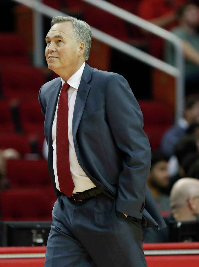 Mike D'Antoni and the Rockets will not change things on Sunday against the fortified frontcourt of the Thunder. Photo: Karen Warren, Houston Chronicle / 2017 Houston Chronicle