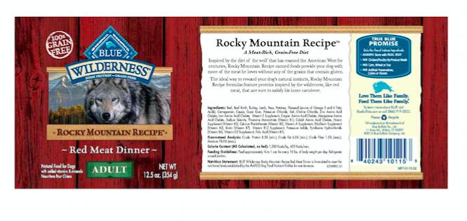 Blue Brand Dog Food Recall