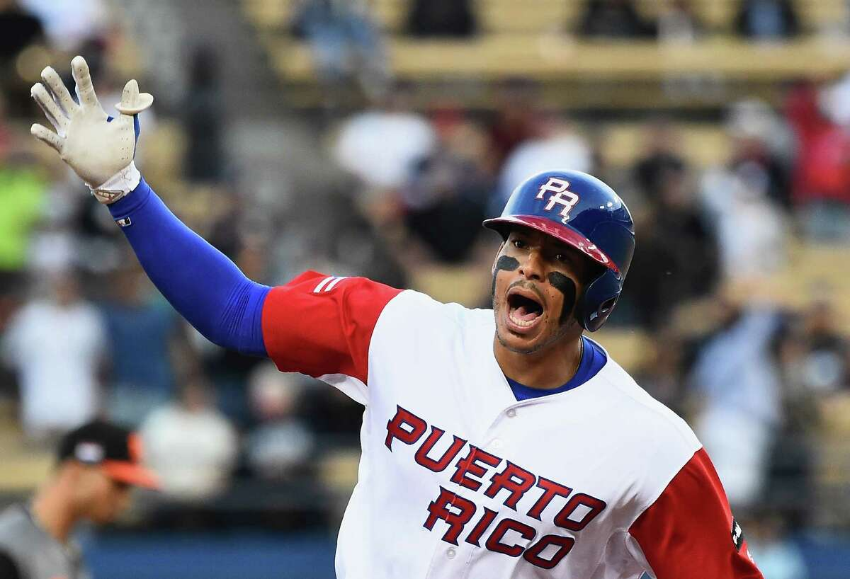 ASTROS IN THE WORLD BASEBALL CLASSIC Carlos Correa, Puerto Rico With Indians shortstop Francisco Lindor also on the team, Correa has started every game at third base for Puerto Rico. He's also hitting third and producing. Correa is hitting .400 (8-for-20) with three home runs, a double, nine RBIs and 10 runs scored.