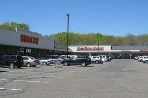 The plaza at Turnpike Square in Milford will be home to the state's first Golden Corral restaurant.