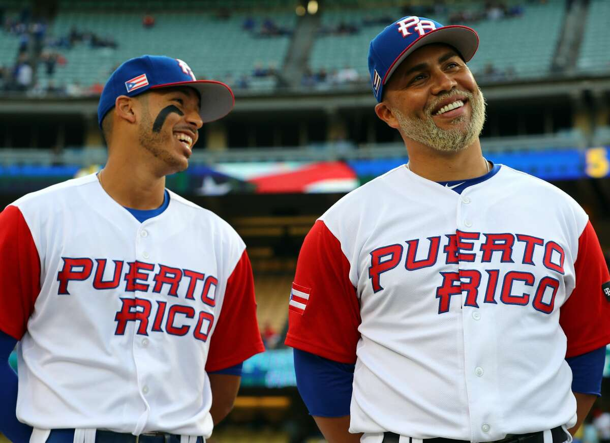 PHOTOS: How the Astros players are doing in the World Baseball Classic The Astros' Carlos Correa (left) and Carlos Beltran have been two big bats in the middle of Puerto Rico's lineup during the World Baseball Classic. Puerto Rico will play in the WBC championship game on Wednesday night. Browse through the photos to see how the Astros' players are doing in this year's World Baseball Classic.