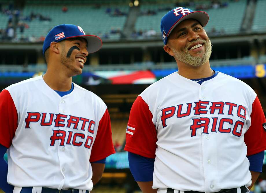 PHOTOS: How the Astros players are doing in the World Baseball ClassicThe Astros' Carlos Correa (left) and Carlos Beltran have been two big bats in the middle of Puerto Rico's lineup during the World Baseball Classic. Puerto Rico will play in the WBC championship game on Wednesday night.Browse through the photos to see how the Astros' players are doing in this year's World Baseball Classic. Photo: Alex Trautwig/MLB Photos Via Getty Images