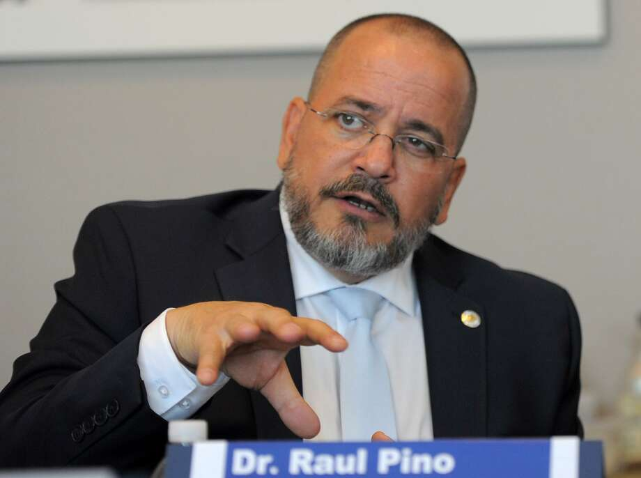 Dr. Raul Pino, the commissioner of the state Department of Public Health. The Connecticut Department of Public Health has been awarded accreditation by the Public Health Accreditation Board, one of only 21 states to receive the distinction. Photo: Cathy Zuraw / Hearst Connecticut Media / Stamford Advocate