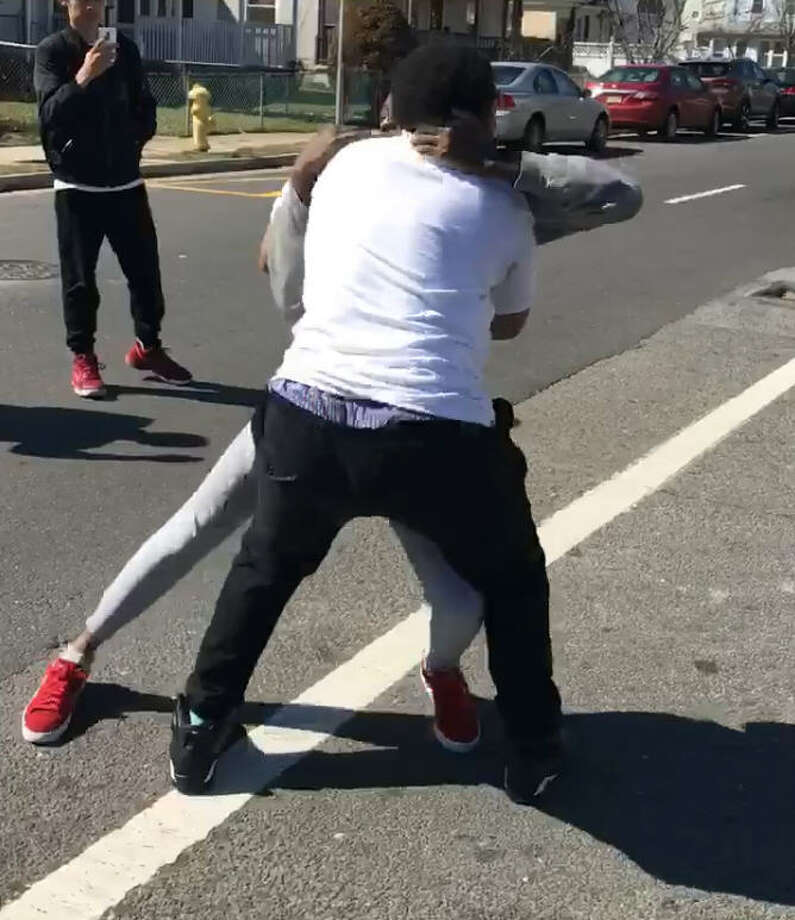 Teen in fight video thanks man who stepped in to stop it