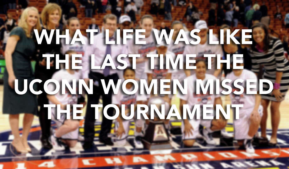 In 1989, the UConn women's basketball team took part in the NCAA Tournament for the first time, from that year on solidifying a spot in the tournament every year after.Scroll through for a look at what Connecticut was like in 1988, the last time the Huskies missed the NCAA Tournament. / Associated Press