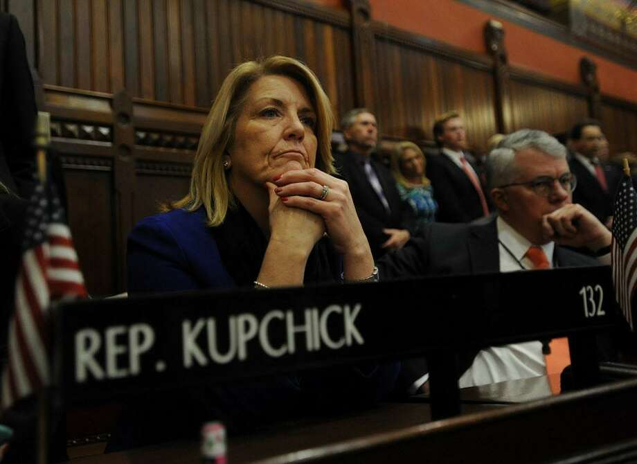 Rep. Brenda Kupchick, R-Fairfield, during opening day of the legislature at the Capitol in Hartford, Conn. on Wednesday, January 4, 2017. Photo: Brian A. Pounds / Hearst Connecticut Media / Connecticut Post
