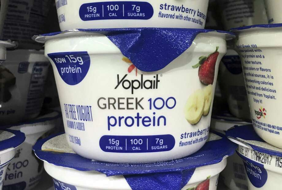 """The company said U.S. yogurt sales were down 20 percent for the quarter, with far steeper declines in Yoplait Light and Yoplait Greek 100 than for original Yoplait. Jeff Harmening, the company's president and chief operating officer, noted the performance reflects the broader declines in """"light"""" and """"diet"""" products in recent years as people move away from calorie counting in search of """"calories that count."""" Photo: Donald King /Associated Press / ap"""