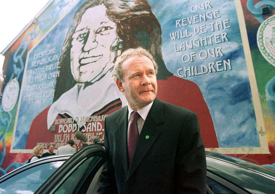 Martin McGuinness was an Irish Republican Army commander who became a respected politician. Photo: Peter Morrison, Associated Press
