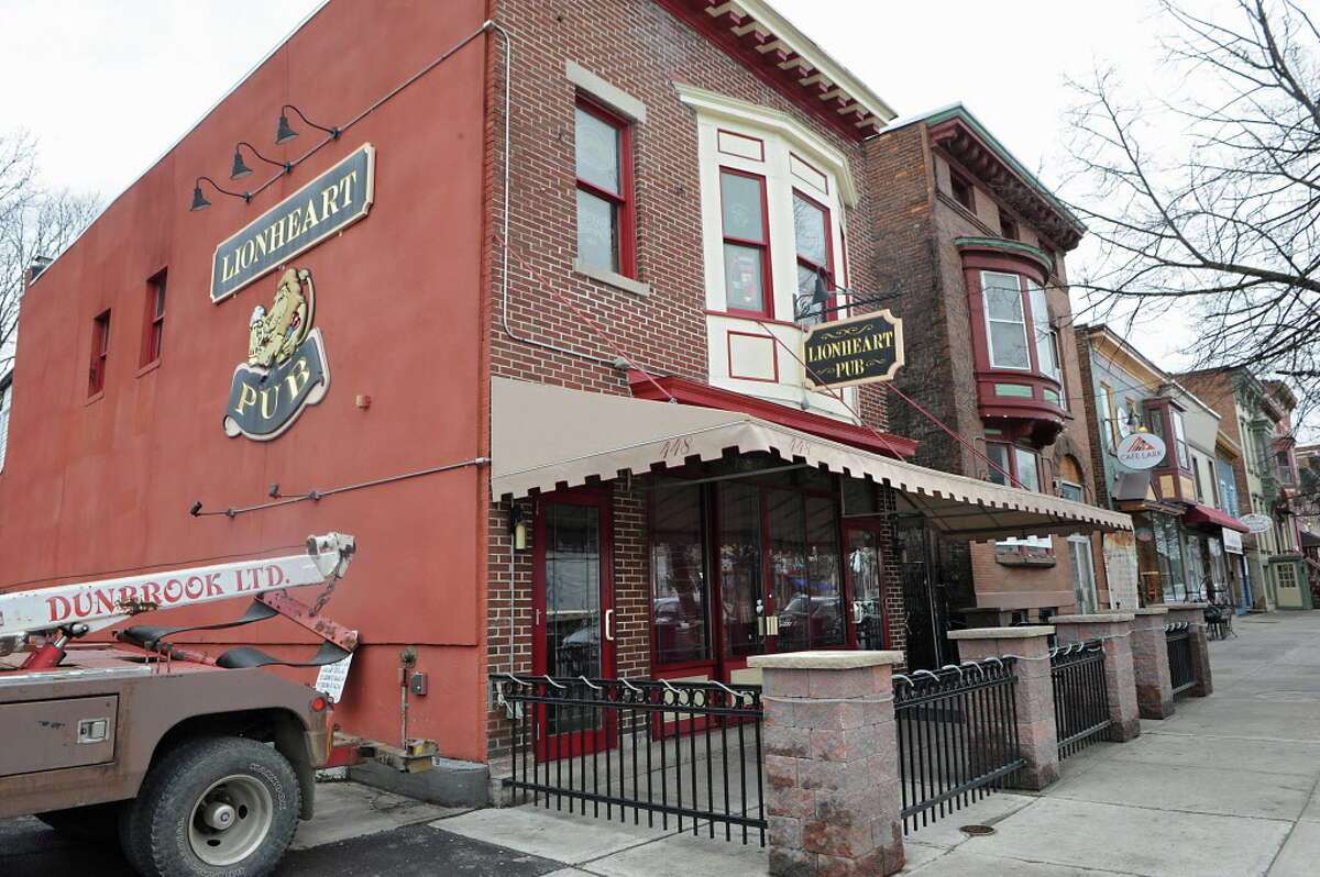 Exterior of the Lionheart Pub at 448 Madison Ave. on Thursday, April 9, 2015 in Albany, N.Y. Owner Jerry Aumand has reportedly sold his business to Mike Keller. (Lori Van Buren / Times Union)