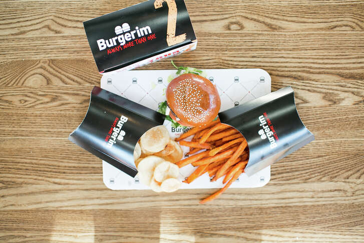 A Burgerim mini-burger joint is coming to Cypress. Courtesy of Burgerim