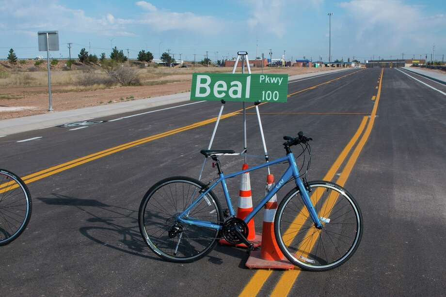 The new Beal Parkway extension provides relief for nearby residents and allows runners and bicyclists to enjoy 3 miles of continuous trails in southwest Midland. Photo: Facebook/City Of Midland