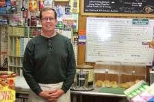 Bill McDermott, owner of Lakeside Deli in New Fairfield, in his deli on Tuesday.