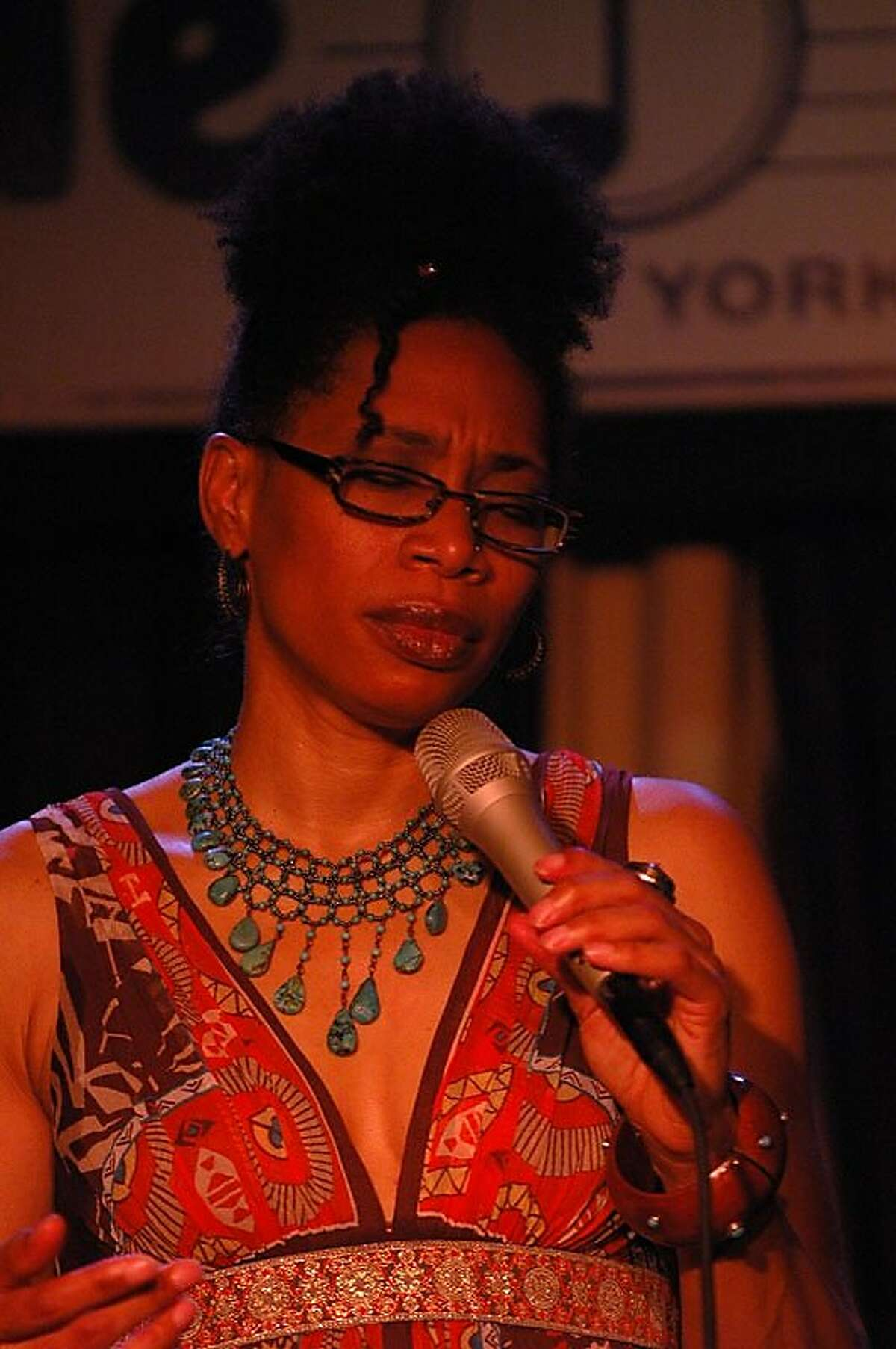 Rachelle Ferrell performs at Yoshi's on Friday, March 31.