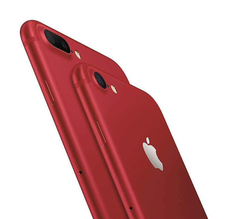 Apple's new red shade for the iPhone. MUST CREDIT: Apple Photo: Apple