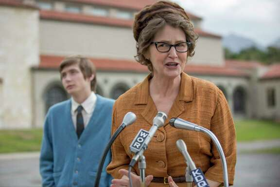 Madalyn Murray O'Hair (Melissa Leo) gained fame - or infamy - by challenging the role of prayer in public schools.
