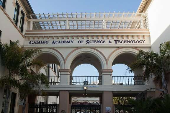 "Know the correct answer to the question, ""Where'd you go to school?"" is your high school. Photo of Galileo High School in San Francisco on Sunday April 1, 2012."