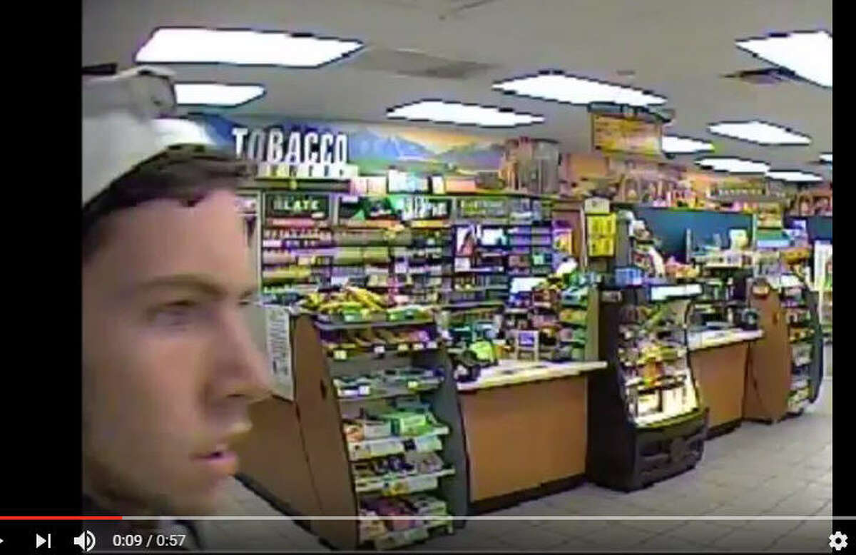A man wearing a light colored shirt and grey pants walked into a Valero store on March 1, looked around at the drinks, then robbed the store. Now, the Harris County Sheriff's Office wants the public's help in identifying the suspect.