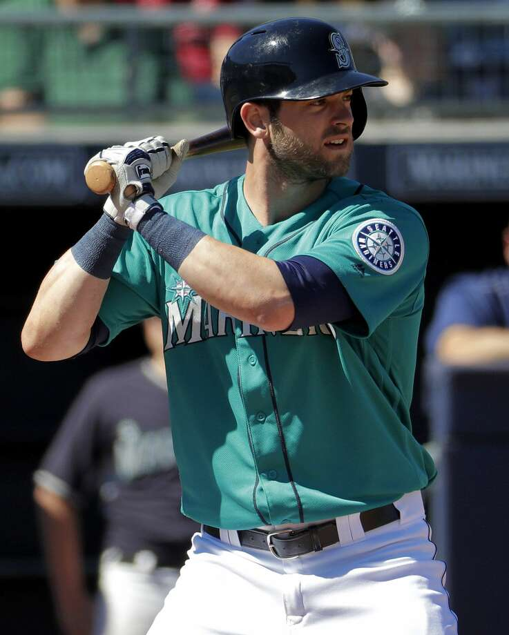 UP: OF Mitch HanigerSeattle general manager Jerry Dipoto hoped the 26-year-old Haniger would run with the starting right field job during the spring, and the former first-round pick has done just that, hitting .404 with six doubles and two home runs in 47 at-bats and playing the kind of defense you'd expect to see from a former center fielder. Photo: Matt York/AP