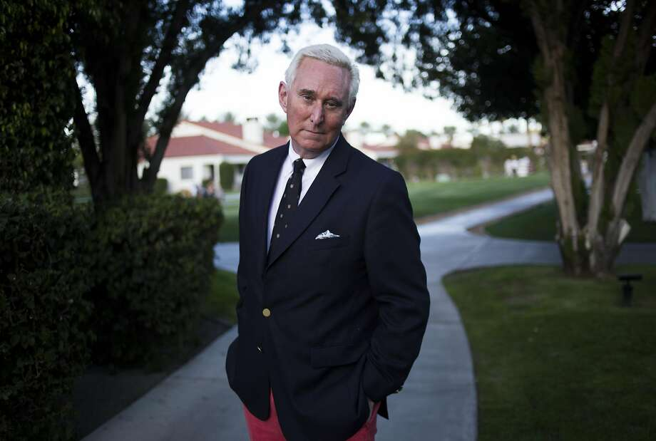 Roger Stone in La Quinta, Calif., March 3, 2017. Stone is the best known of the Trump associates under scrutiny as part of an FBI investigation into Russian interference in the 2016 election. He has denied any involvement with the Russians, but his public statements have given investigators a focal point to consider. (Jenna Schoenefeld/The New York Times) Photo: JENNA SCHOENEFELD, NYT