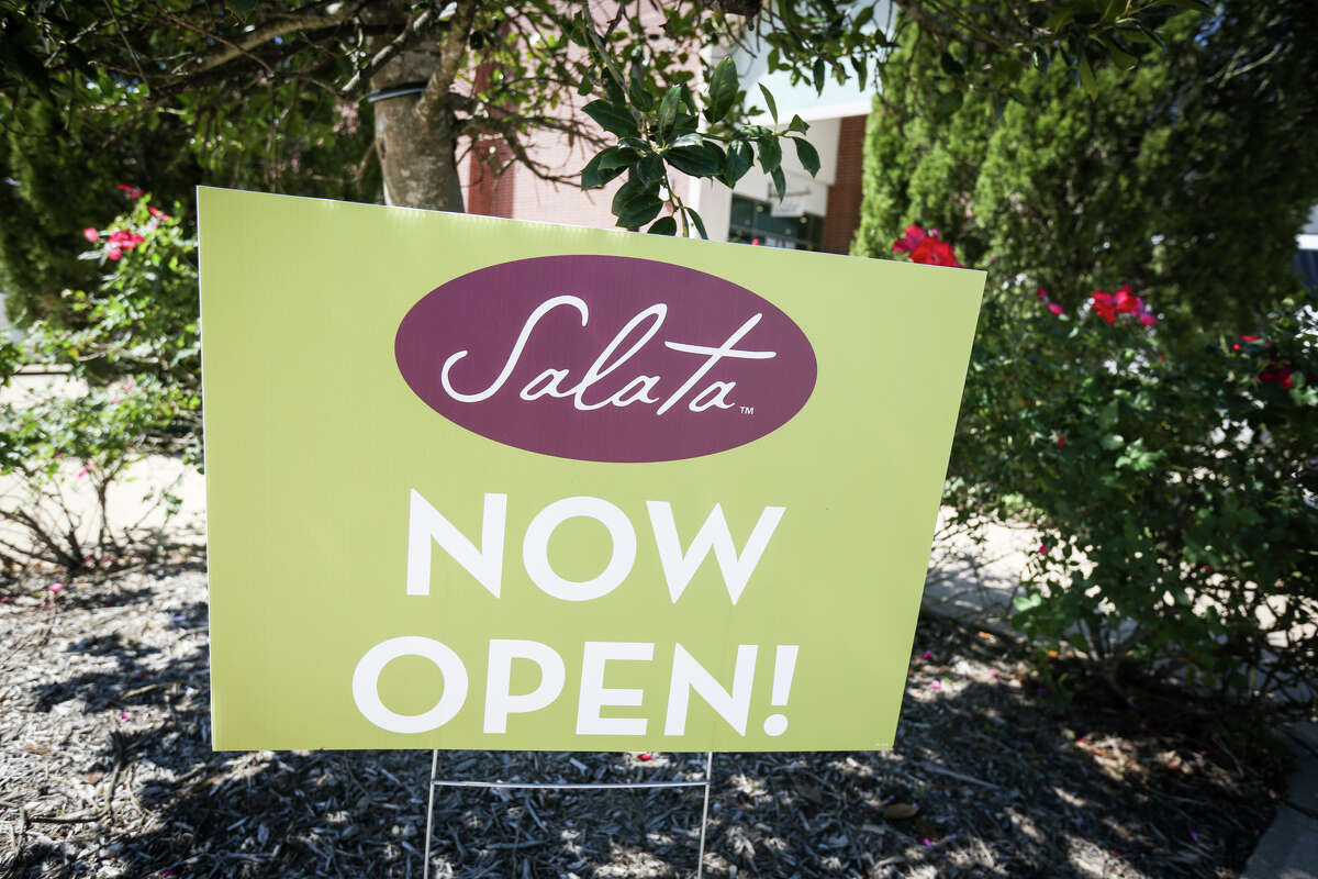 Houston-based Salata will open its second Pearland location this month.