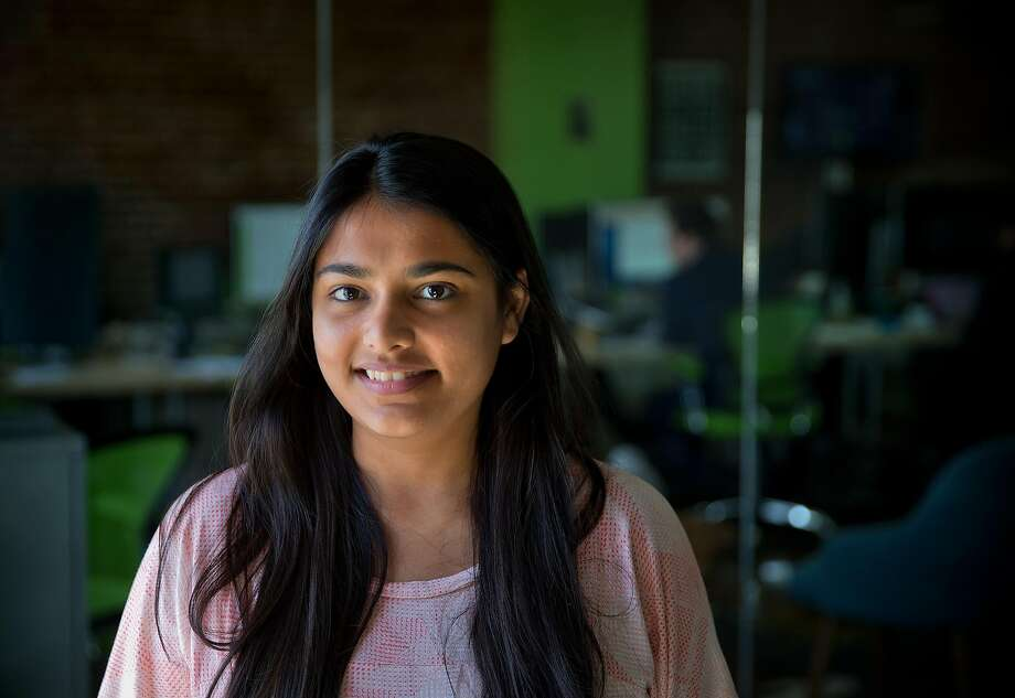 Nikita Patwari, a graphic designer at Shippo, a startup in San Francisco, is among hundreds of thousands of people applying for an H-1B visa this year. Photo: Carlos Avila Gonzalez, The Chronicle