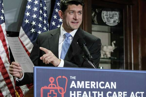 Just how would Speaker Paul Ryan fare in an imaginary discussion with Jesus on health care? Ryan speaks during a news conference March at the Republican National Committee Headquarters on Capitol Hill on the GOP health care plan.