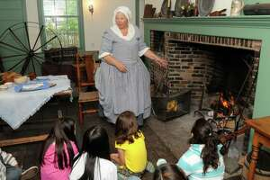 The Danbury Museum and Historical Society held a school week for local students to learn about Danbury history in this May 2010 file photo.