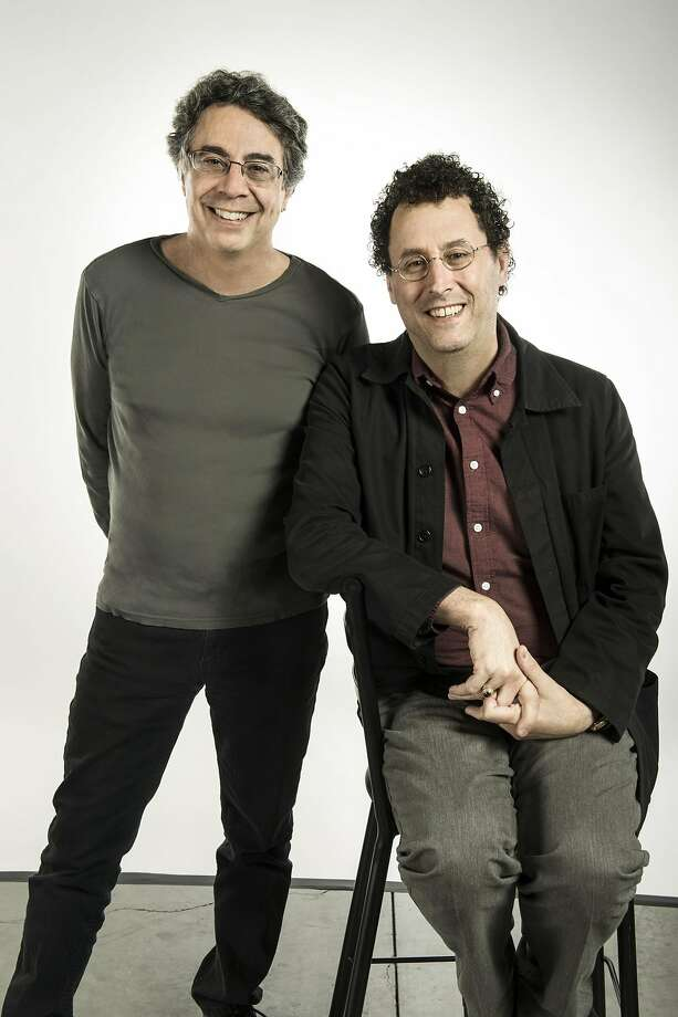 "From left: Tony Taccone and Tony Kushner, director and playwright of ""Angels in America."" Photo: Kevin Berne, Berkeley Rep"