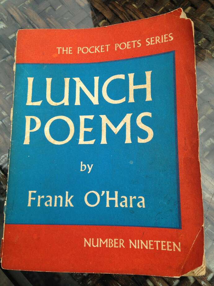 """Lunch Poems"" Photo: Randy Rollison"