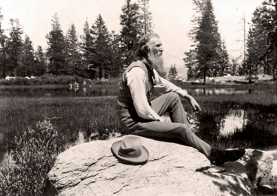 """Best Books: """"The Yosemite"""" (John Muir) The majority of literature about the outdoors consists of guides on how to survive it or tales of those who endured it. Muir didn't just like nature — he bathed in it, celebrated it and got drunk on it. And his sense of awe shows in nearly every page as he explores parts of the West's most famous wilderness, in a way few sane people did. (Without high-tech sleeping bag or Gore-Tex.) At the beginning, Muir asks a stranger in San Francisco the fastest way out of town, to which the man asks where Muir wants to go. """"To any place that is wild."""" (Never mind that the man directs him to the Oakland ferry.) Photo: Universal History Archive/Getty Images, Getty Images"""