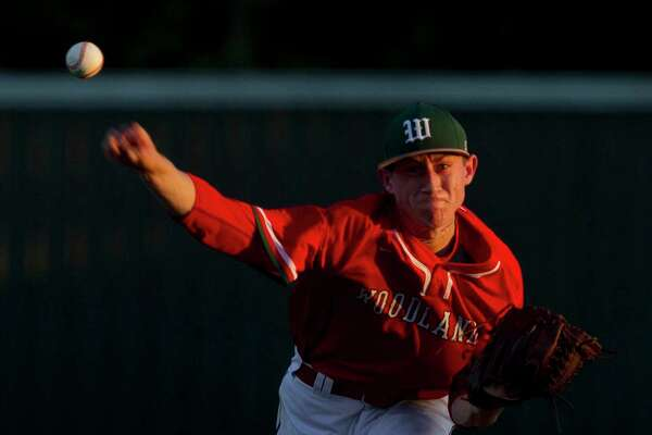 Devin Fontenot has piled up plenty of strikeouts - 20 of them - in two district starts for The Woodlands.