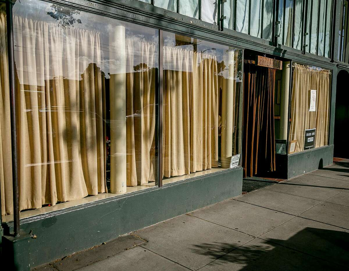 The exterior of Pizzaiolo in Oakland, Calif., is seen on March 21st, 2017.
