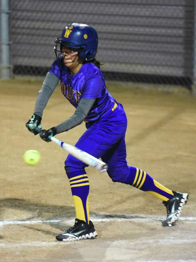 LBJ's Lizbeth Reyes and the Lady Wolves pulled out a 2-1 victory over United South Tuesday at the SAC Photo: Danny Zaragoza /Laredo Morning Times / Laredo Morning Times