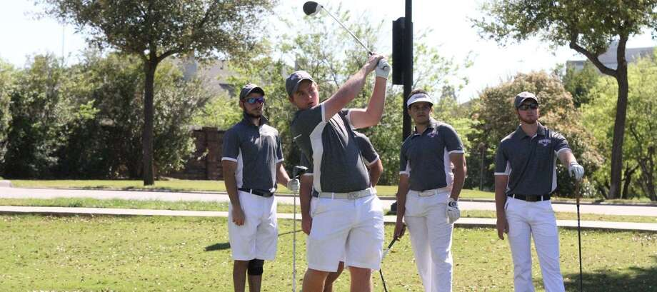TAMIU golfer Travis Smith finished 13th at the Victoria Fall Classic and the Texas A&M-Commerce Tribute at the Colony. The Dustdevils took fourth place overall out of 17 teams. Photo: Courtesy Of TAMIU Athletics