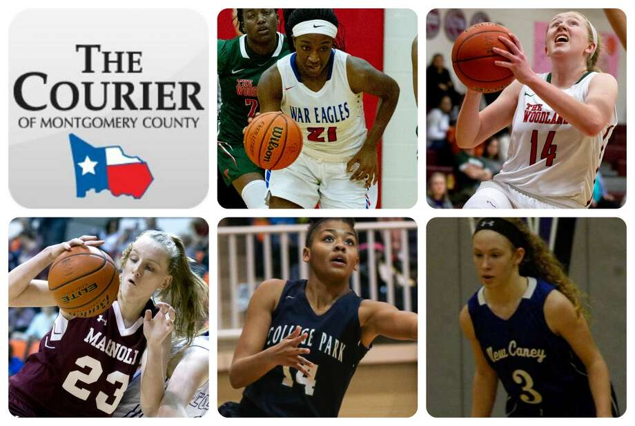 Oak Ridge's Alecia Whyte, The Woodlands' Emma Warnsman, Magnolia's Alexus Wykoff, College Park's Sandra Cannady and New Caney's Skylar Patton are The Courier's nominees for All-Montgomery County Offensive MVP.