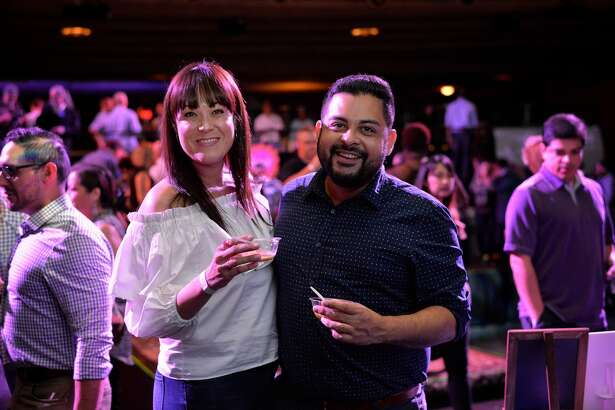 Top cocktails and dishes called San Antonio food lovers to the Aztec Theatre Tuesday, March 21, 2017, for the Express-News Top 100 Dining & Drinks tasting event.